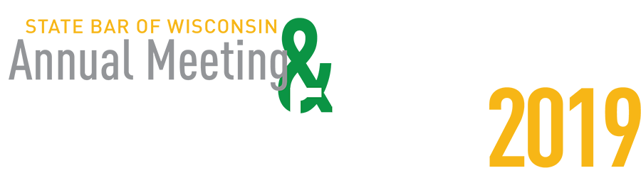 State Bar of Wisconson Annual Meeting & Conference 2019