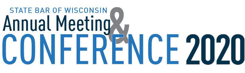 State Bar of Wisconson Annual Meeting & Conference 2020