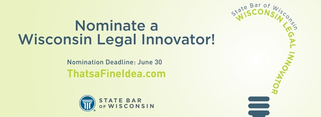 Nominate a Wisconsin Legal Innovator!