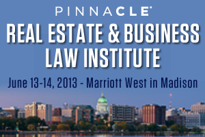 Real Estate and Business Law Institute