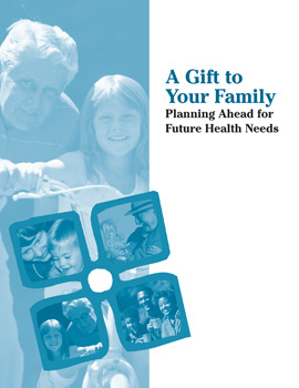 A Gift to Your Family handbook