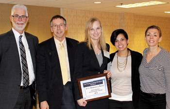 Barbara Privat, 2013 YLD Attorney of the year with State Public Defender's Office colleagues