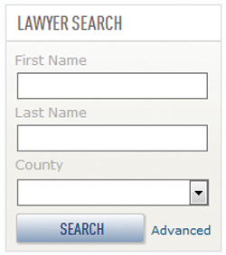WisBar Lawyer Search basic search