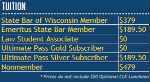 Health, Labor, and Employment Law Institute rates
