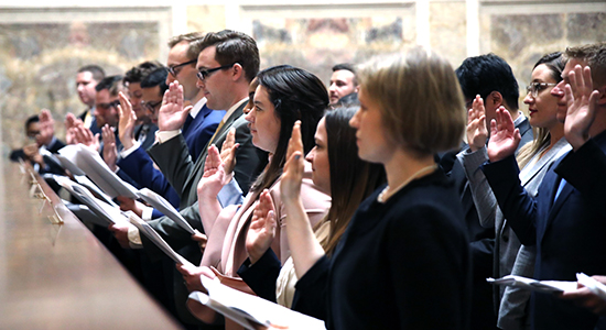 WisBar News: Marquette Admissions: Welcome, New Wisconsin Lawyers: