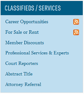 WisBar classifieds