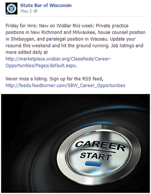Friday for Hire Facebook post