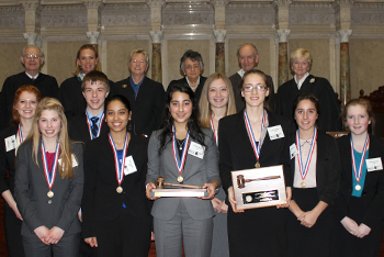 Rhinelander High School Mock Trial Team