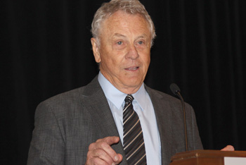 Morris Dees speaks at the Litigation, Dispute Resolution, and Appellate Practice Institute