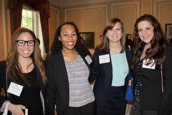New attorneys Lisa Herndon, Erin Johnson, Kristen Irgens, and Marie Bahoora