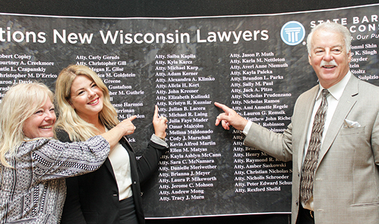 Wisbar News Marquette Admissions State Bar Welcomes 148