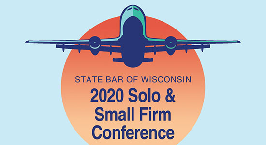 2020 Wisconsin Solo & Small Firm Conference logo