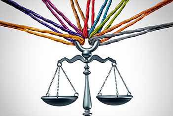 Image result for modern scale of justice