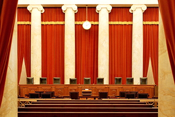US Supreme Court chambers