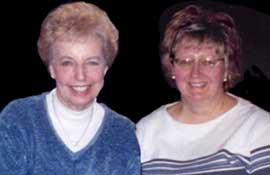 Mary Kanas and Joanne Cupery