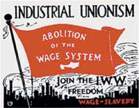 industrial unionism placard