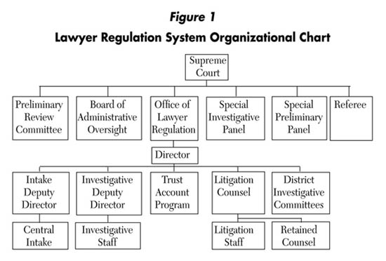 Lawyer Regulation System Organizational