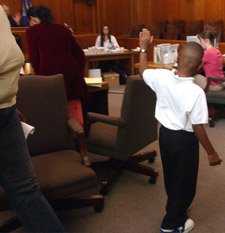 8-year-old defendant