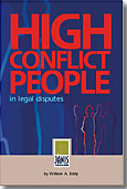 High Conflict People book