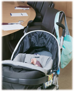 baby carriage in 