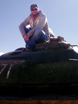 Russian Army tank