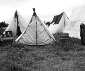 old tent