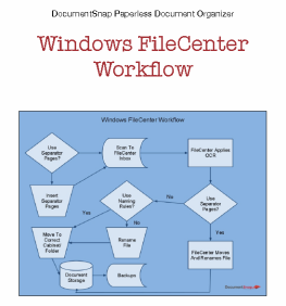 Windows FileCenter Workflow
