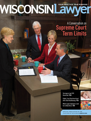 March 2014 Wisconsin Lawyer