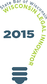 Wisconsin Legal Innovator 2015 logo