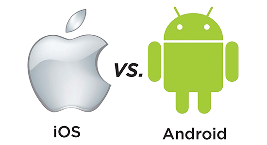 how to change android system into ios