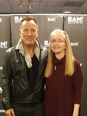 Mary Fons and Bruce Springsteen