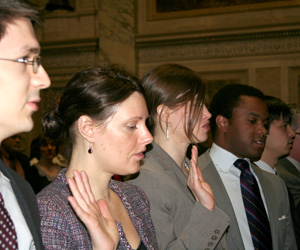 New Wisconsin lawyers are sworn in