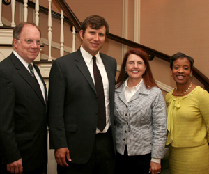 Atty. Turney with George Brown and Michelle Behnke