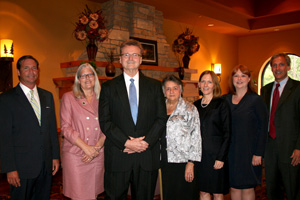 Justice Abrahamson with 2012 Presidential Award recipients