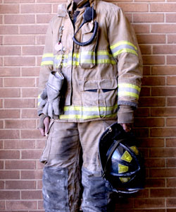 On-duty firefighter injured shooting hoops 