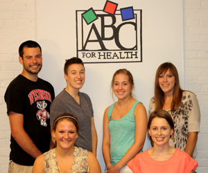 Law student interns working with  ABC for Health