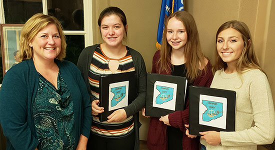 Crawford County Teen Court participants