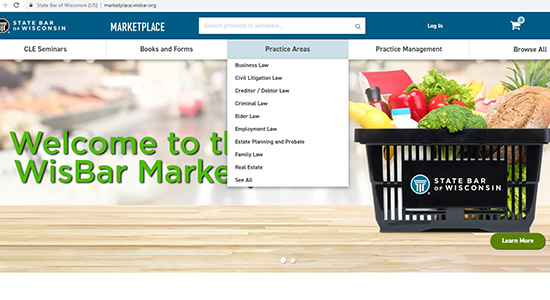 marketplace menu