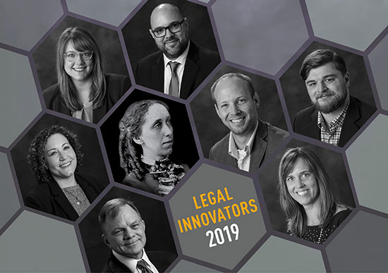 2019 Wisconsin Legal Innovators collage