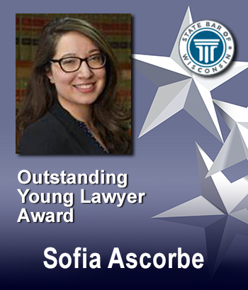 Outstanding Young Lawyer Award - Sofia Ascorbe