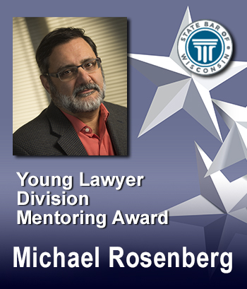 Young Lawyers Division Mentoring Award - Michael Rosenberg