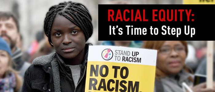 racial equity banner