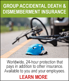 Group Accidental Death and Dismemberment Insurance